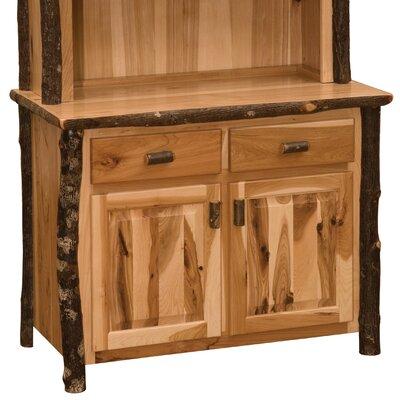 Fireside Lodge Hickory Serverr  Color: Traditional