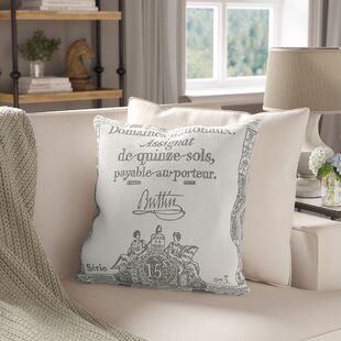 Lowe Square Cotton Throw Pillow Cover