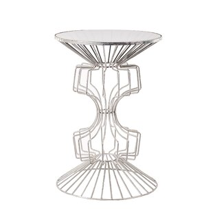 Alcinous Iron Wire End Table