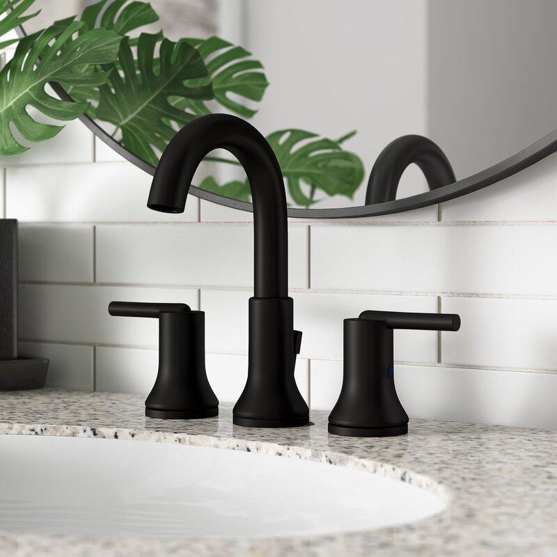3559 Mpu Dst Czmpu Dst Blmpu Dst Delta Trinsic Widespread Bathroom Faucet With Drain Assembly And Diamond Seal Technology Reviews Wayfair