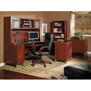 Kirchoff L-Shape Desk Office Suite by Ebern Designs Fresh