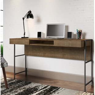Cayenna 1 Drawer Writing Desk by Union Rustic Modern
