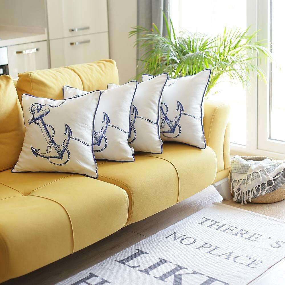 Apolena Anchor Square Pillow Cover Wayfair