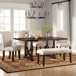 Chevaliers 6 Piece Drop Leaf Dining Set b..
