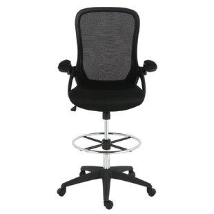 Symple Stuff Labounty Mesh Drafting Chair