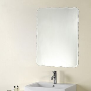 Top Reviews Kersey Frameless Wall Mirror By Winston Porter