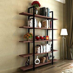 Melia Vintage Industrial Style 5 Tier Etagere Bookcase