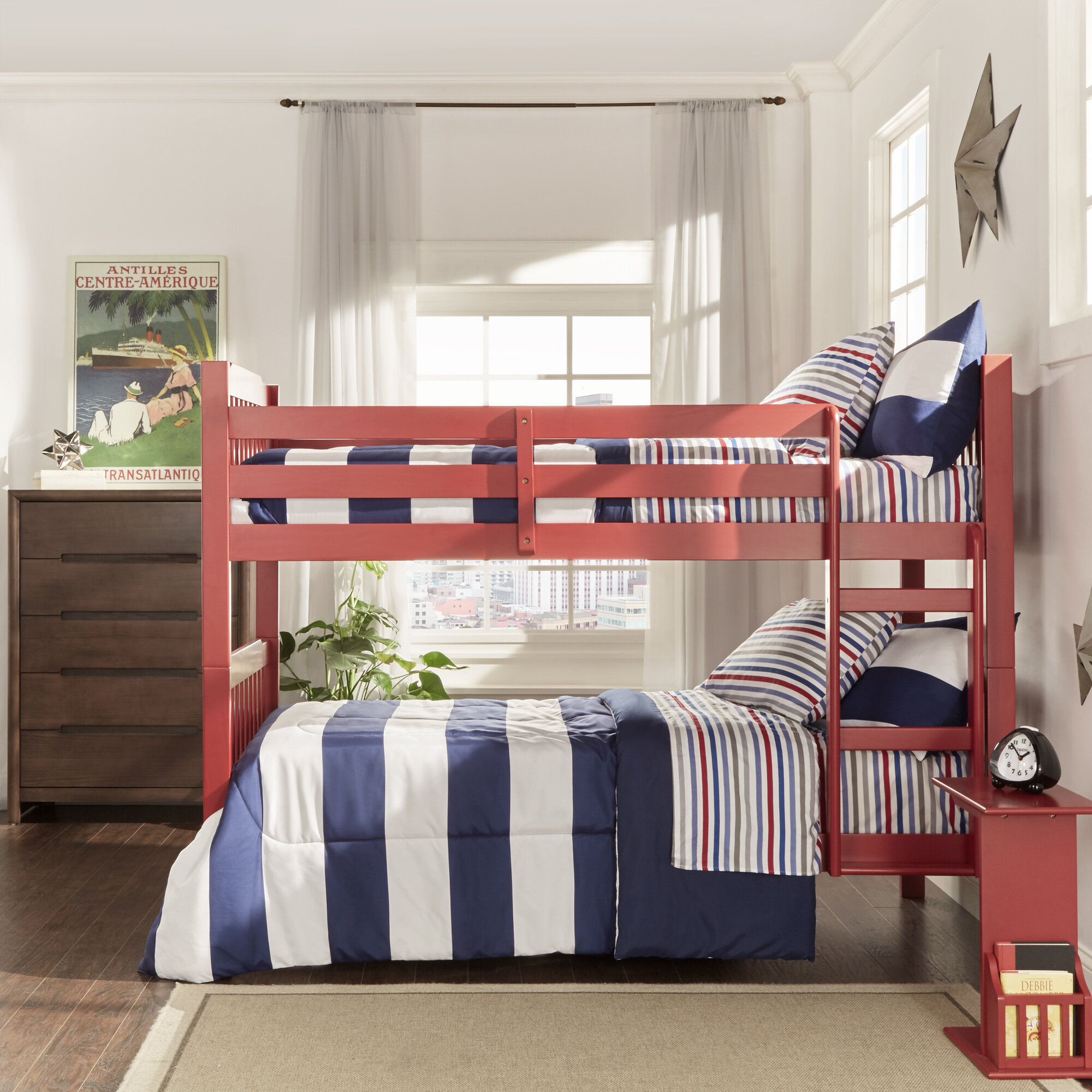 Picture of: Viv Rae Theodore Twin Over Twin Bunk Bed Reviews