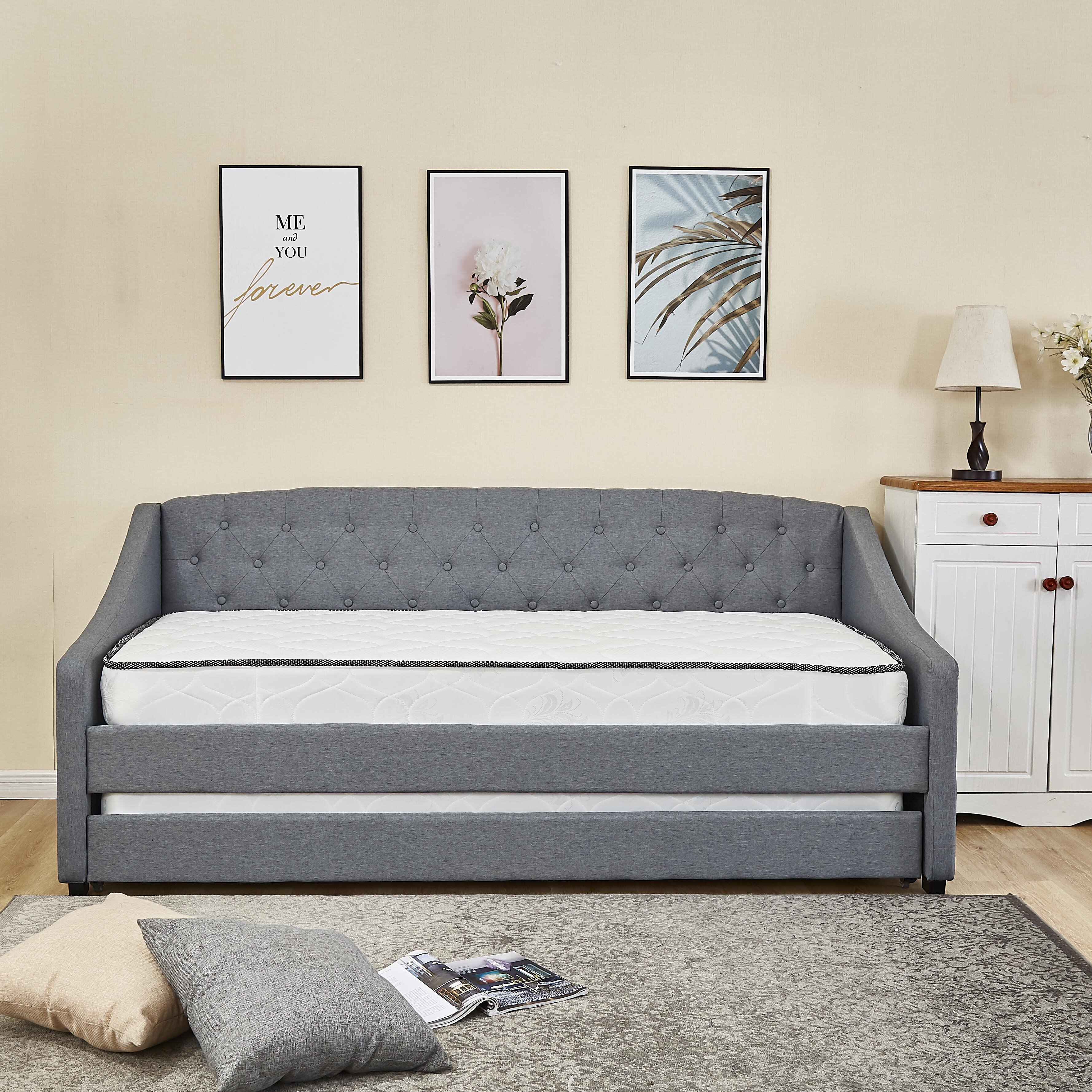 Upholstered Daybeds Guest Beds You Ll Love Wayfair Co Uk