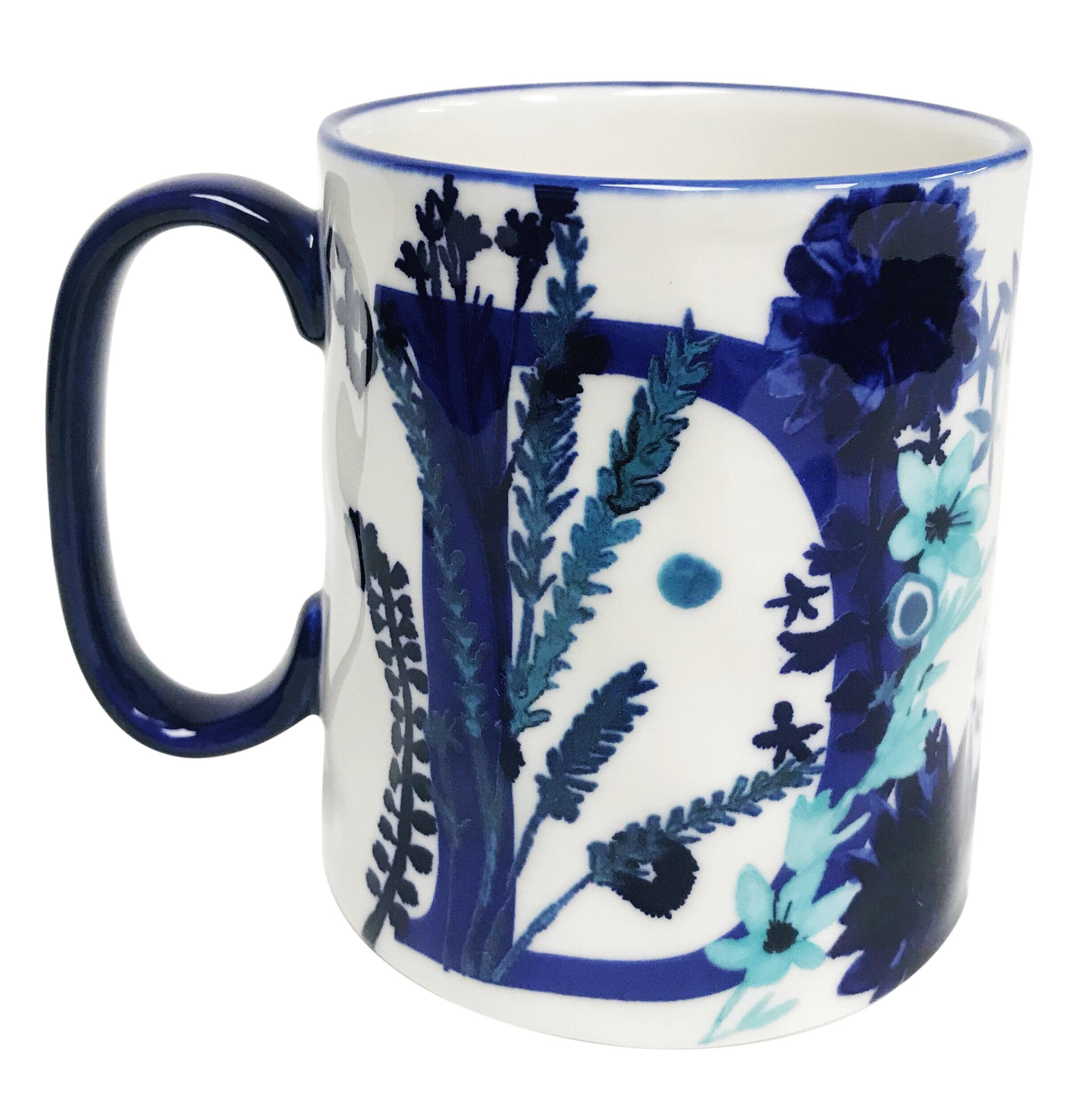 Erwin Fl D Initial Coffee Mug