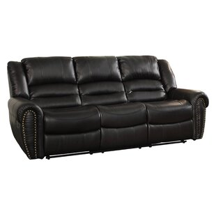 Medici Double Reclining Sofa by Astoria Grand