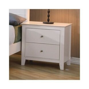 Elijah 2 Drawer Nightstand by Breakwater Bay