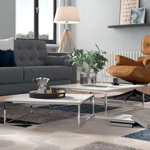 Edwina 2 Piece Coffee Table Set By Zipcode Design