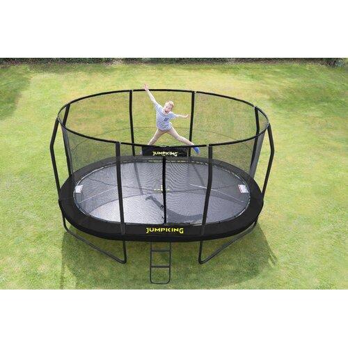 457 cm Gartentrampolin mit Sicherheitsnetz JumpKing | Kinderzimmer > Spielzeuge > Trampoline | JumpKing