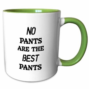 Carmel No Pants Are the Best Pants Coffee Mug
