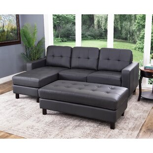 Oliver Reversible Modular Sectional with Ottoman by Breakwater Bay