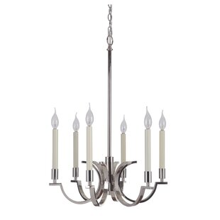 Darby Home Co Salford 6-Light Chandelier
