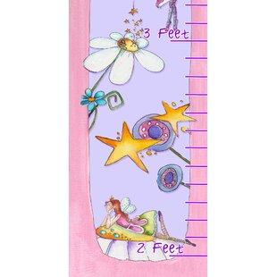 Kleckner Princesses And Flower Growth Chart ByZoomie Kids