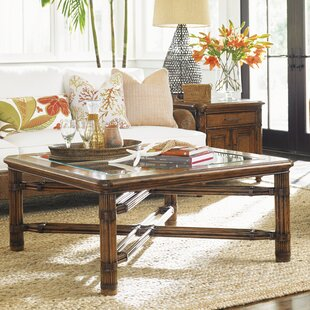 Bali Hai Coffee Table by Tommy Bahama Home 2019 Sale