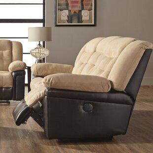 Serta Upholstery Merauke Leather Reclining Loveseat by Charlton Home