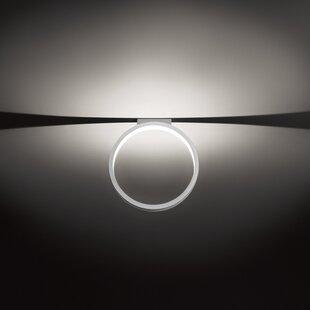 ZANEEN design 1-Light LED Semi Flush Mount
