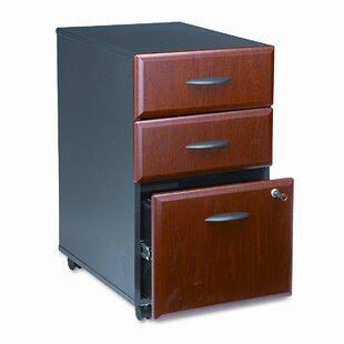Bush Furniture 3-Drawer Mobile File