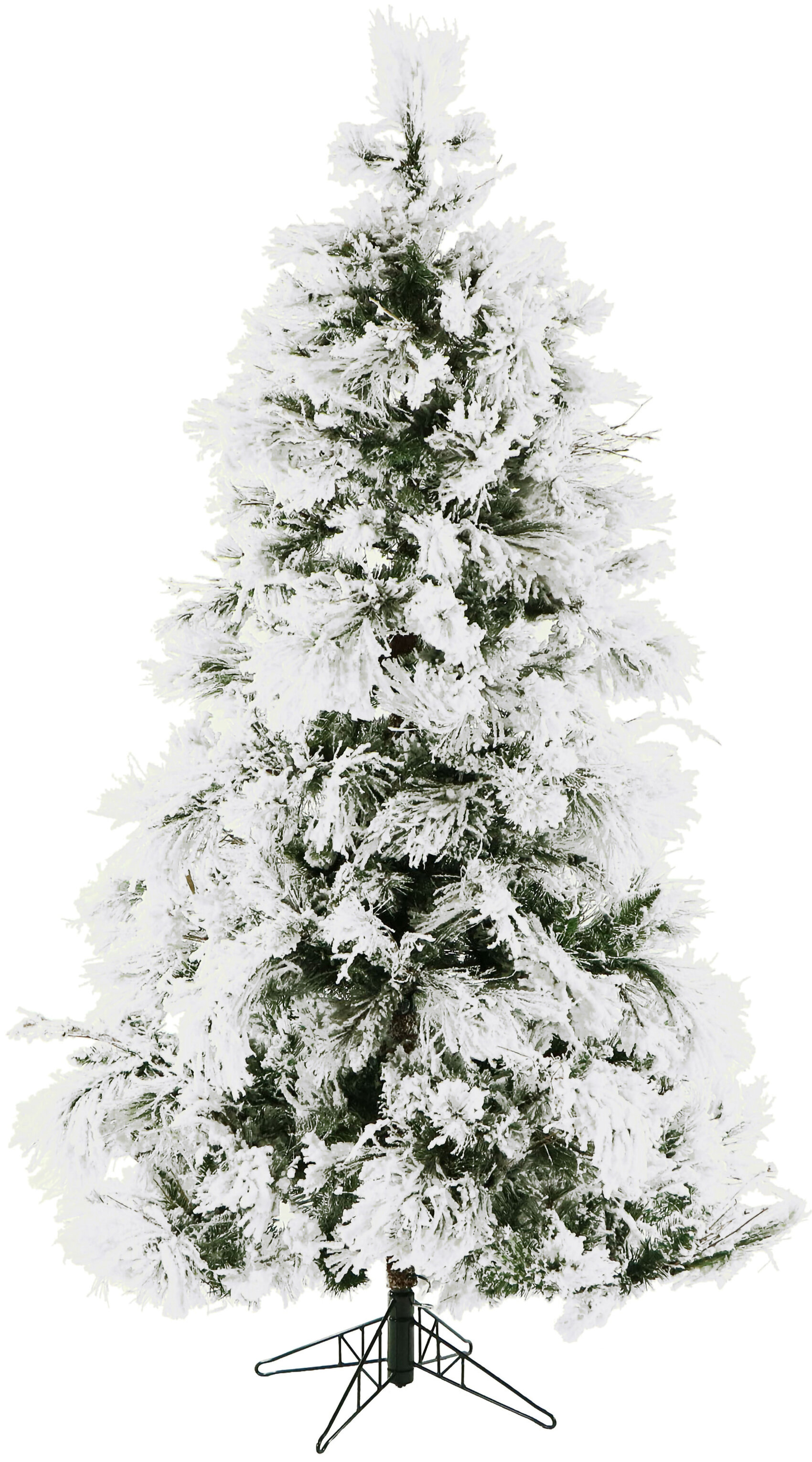 The Holiday Aisle Flocked Snowy White Pine Artificial Christmas Tree Reviews Wayfair