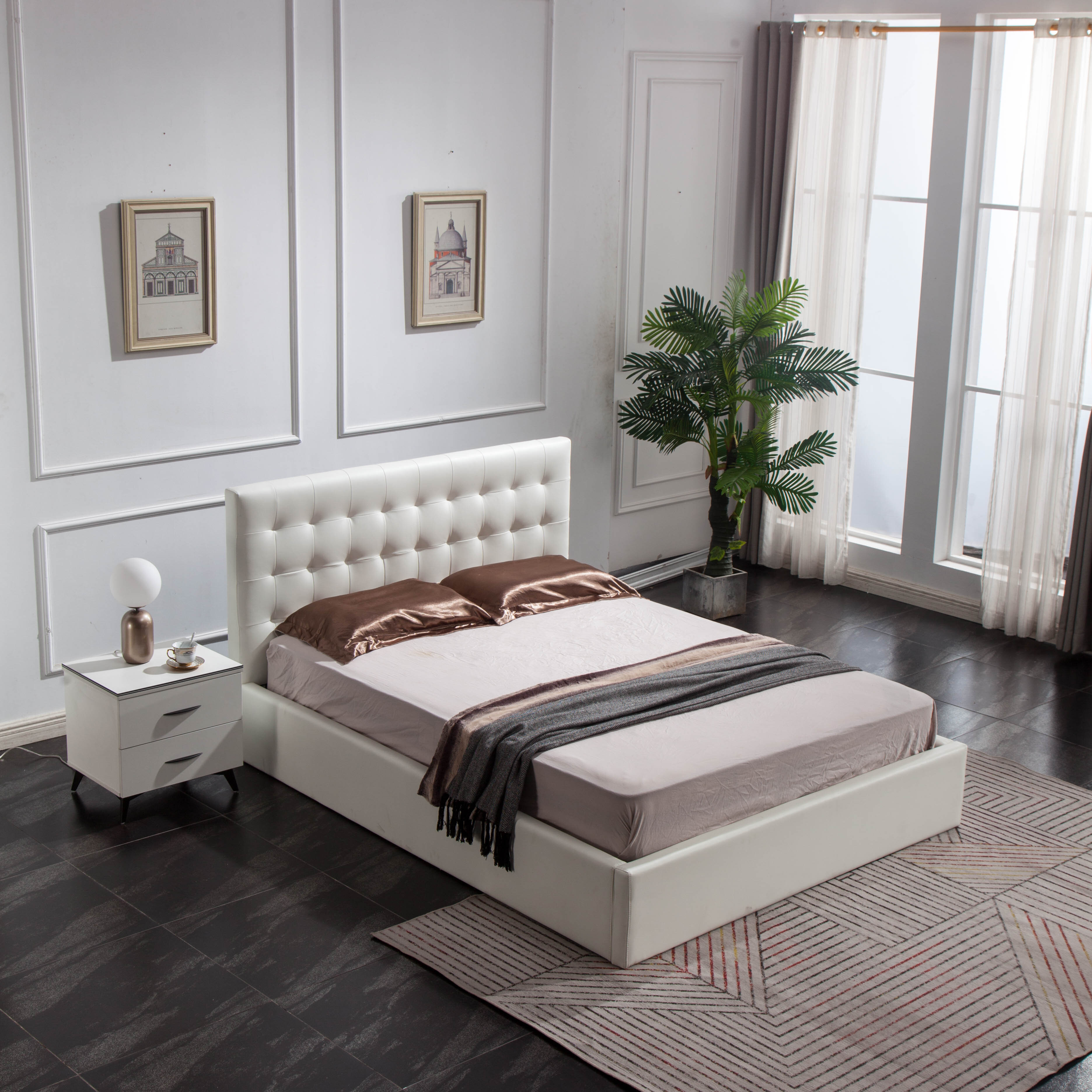 Picture of: Full Double White Storage Beds You Ll Love In 2020 Wayfair