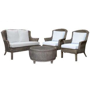 Playa Largo 4 Piece Living Room Set by Panama Jack Sunroom