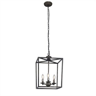 Wold 3-Light Square Chandelier