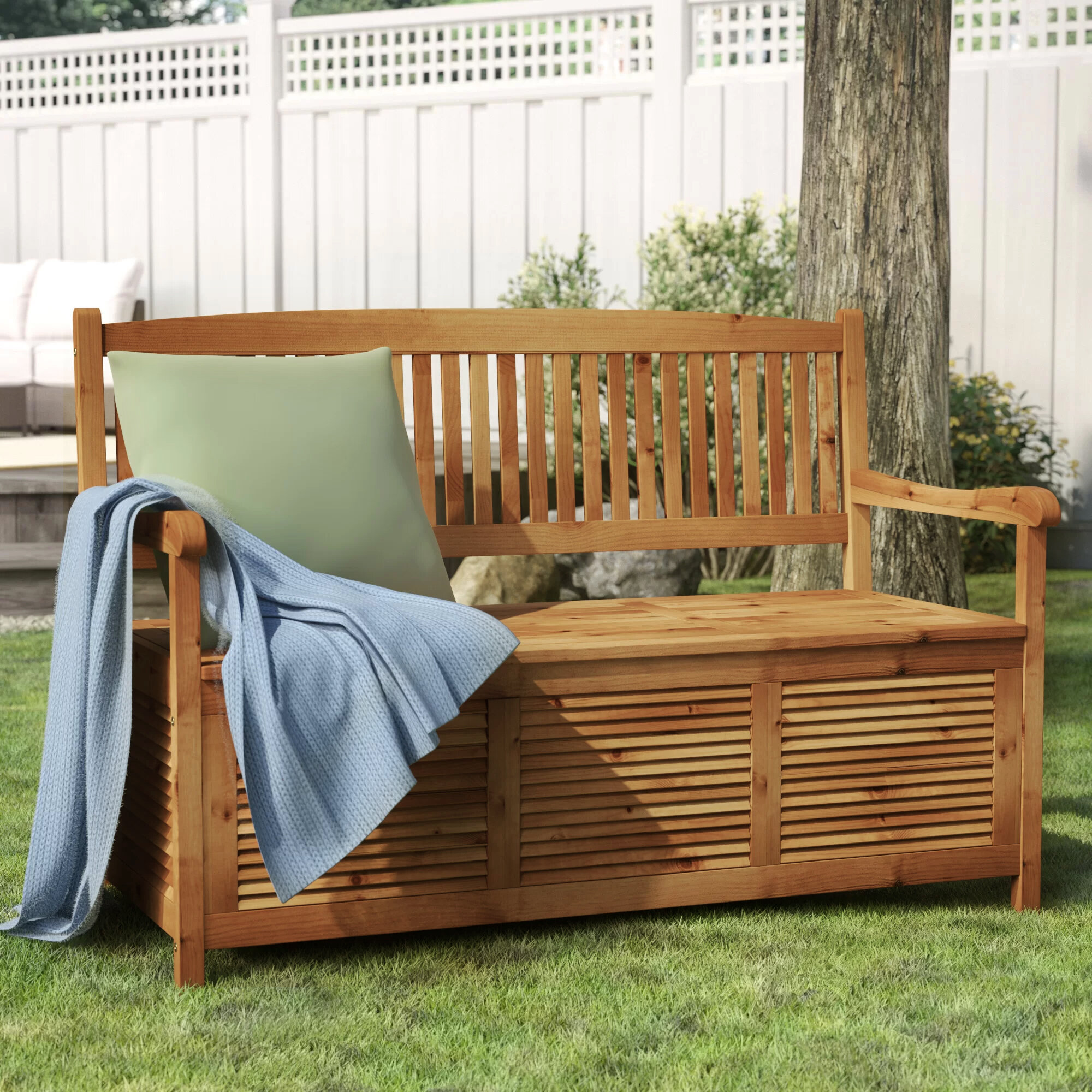 Picture of: Cottage Country Outdoor Benches You Ll Love In 2020 Wayfair