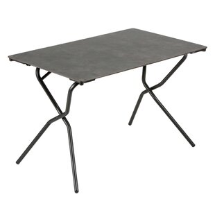 Lafuma Anytime Rectangular Folding Stainless Steel Dining Table