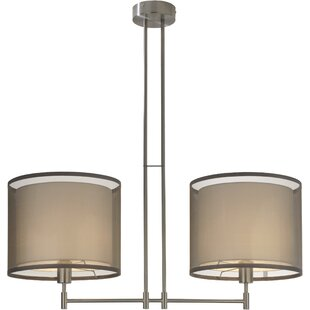 Ebern Designs Mcglade 2-Light Drum Pendant