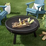 Omaha Cooking Fire Pit Camping Cookware byFreeport Park