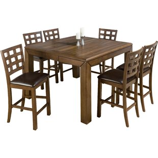 Paraiso Counter Height Dining Table Loon Peak