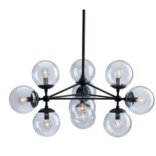 Corrigan Studio Corrymellagh 10-Light Sputnik Chandelier