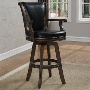Swivel Bar Stool by Darby Home Co