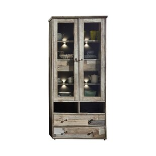 Casablanca Display Cabinet With Lighting By Laurel Foundry