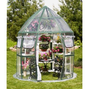 Flowerhouse Conservatory 8.5 Ft. W x 8.5 Ft. D Greenhouse