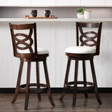 Alamo Bar & Counter Swivel Stool (Set of 2) by Darby Home Co