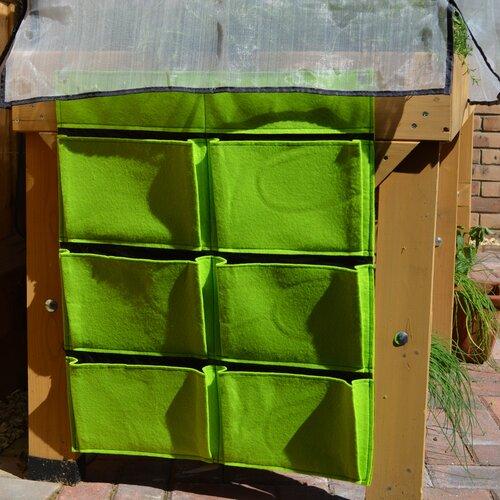 Longbridge Wall Planter Sol 72 Outdoor Colour: Lime Green