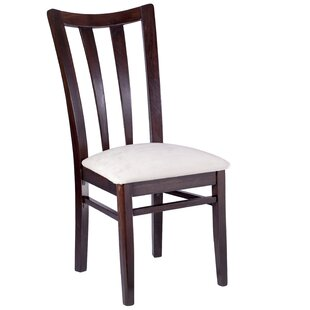 Wendover Slat Back Solid Wood Dining Chair (Set Of 2) by Red Barrel Studio Sale