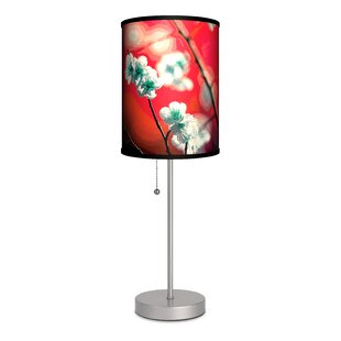 Coupon Decor Art Cherry Blossom 20 Table Lamp By Lamp-In-A-Box