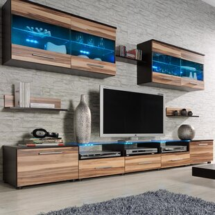 Modern & Contemporary Entertainment Centers You\'ll Love | Wayfair