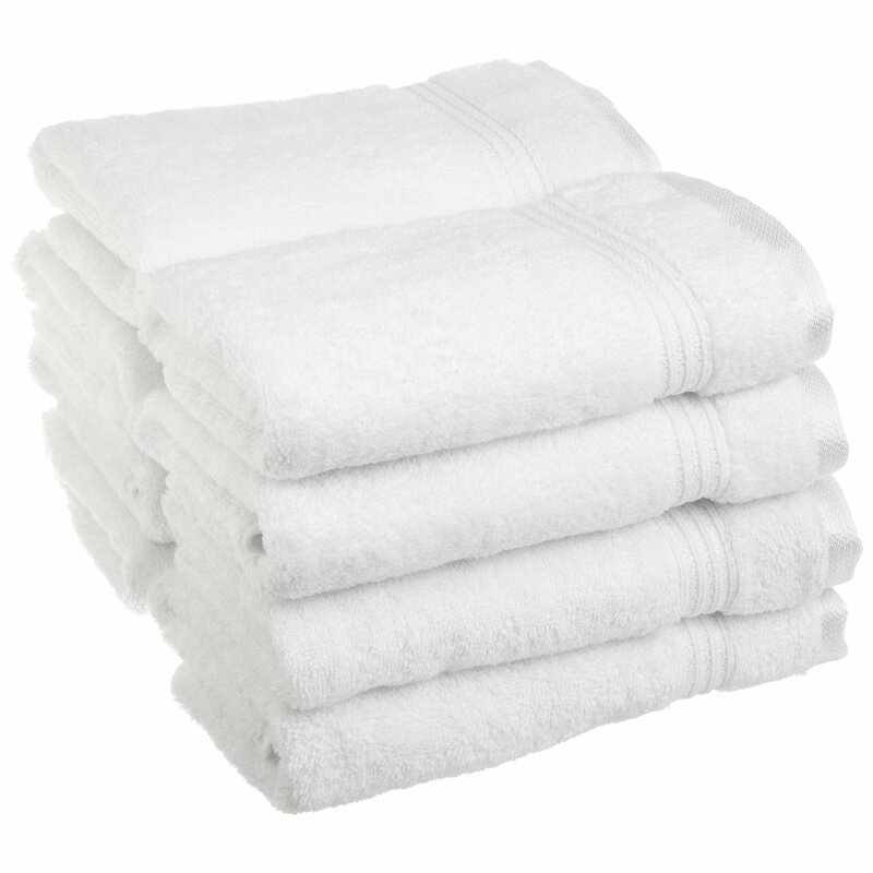 The Twillery Co Patric 8 Piece Egyptian Quality Cotton Hand Towel Set Reviews Wayfair