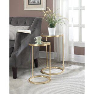 Comparison Rumsey 2 Piece End Table Set By Willa Arlo Interiors