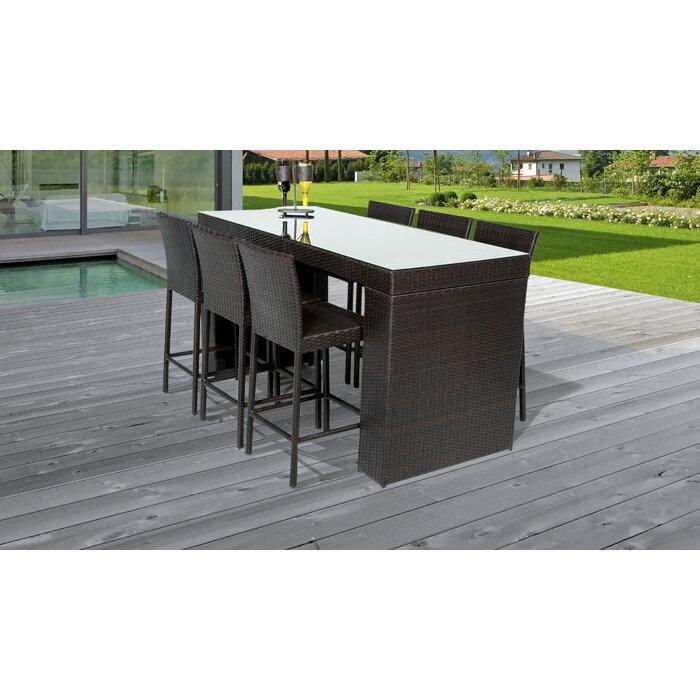 Wondrous Fernando 7 Piece Bar Height Dining Set Uwap Interior Chair Design Uwaporg