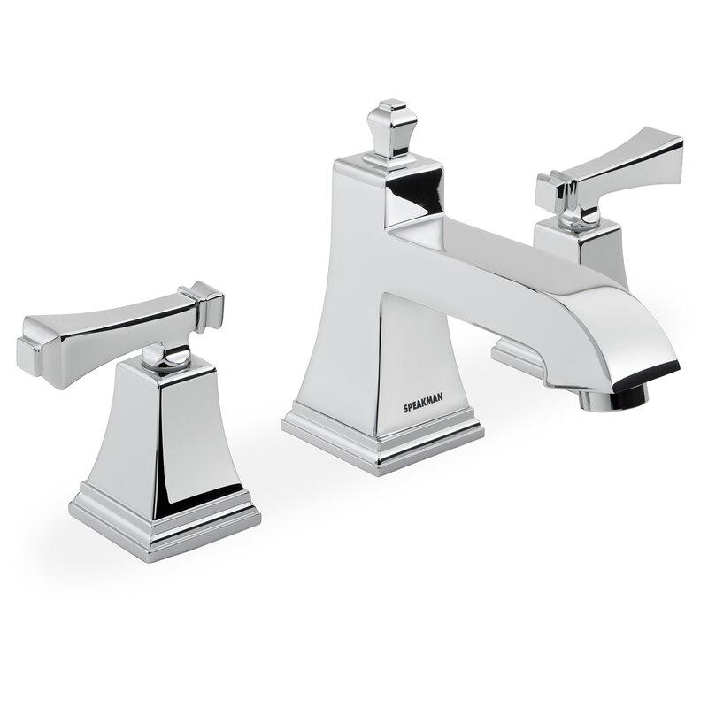 Speakman Rainier Widespread Bathroom Faucet & Reviews   Wayfair