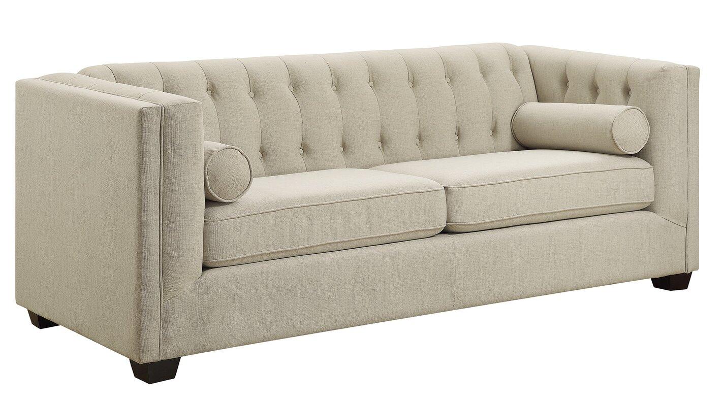 Chesterfield sofa modern  Red Barrel Studio Ramses Modern Chesterfield Sofa & Reviews | Wayfair
