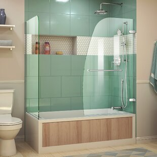 Find for Aqua Uno 60 x 58 Hinged Tub Door ByDreamLine